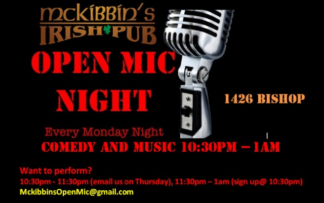 McKibbins Irish Pub: Montreal's original Pub & Bar  | Open Mic Night | McKibbins Irish Pub is the Montreal Irish Pub & Bar. The best bar & pub food in the Montreal area with an irish twist, live bands & over 24 beers on tap.